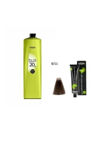 L'oreal Professionnel Loreal Inoa No:8,11 Saç Boyası 60 Gr+Oksidan 20 Vol. %6 1000 Ml Renksiz